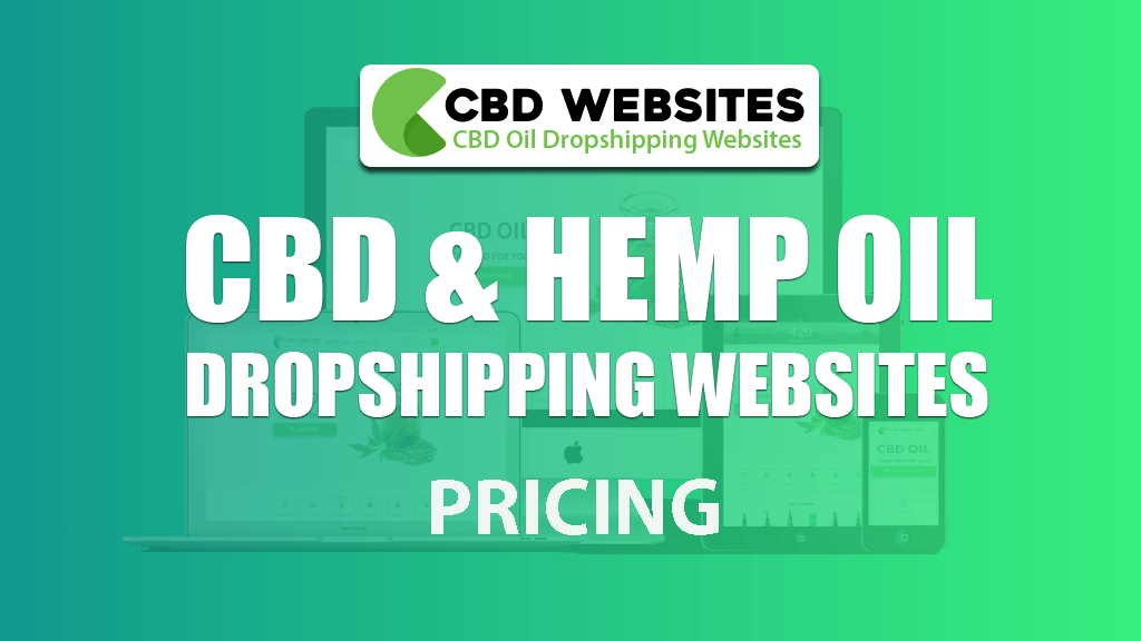 CBD WEBSITES PRICING